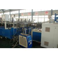 China Three Layer Construction Template WPC Extrusion Machine / Production Line Double Screw wholesale