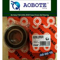 China Deep Groove FAG Roller Ball Bearings Single Row 6206-2RSR OEM ODM wholesale