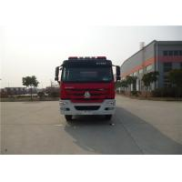 China 380HP Engine Power Motorized Fire Truck With Water Pump Transmission System on sale