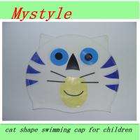 China baby swim cap lovely swim cap foe many cartoon patterns wholesale