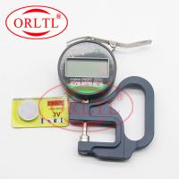 China ORLTL 0.001mm Injector Shims Thickness Measurement Tool Digital Display Thickness Micrometer Gauge Diesel Injector Tools wholesale