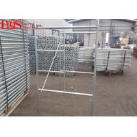 China Size 3'×4' Ladder Frame Scaffolding 3'×4' Standard Sizes For Construction wholesale
