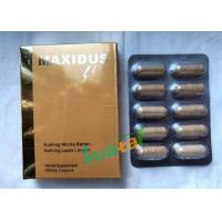 China Maxidus Herbale Sexual Pills Male Libido Sex Enhancer For Male Penis Enlarge wholesale