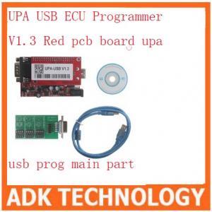 China UPA USB ECU Programmer V1.3 Red pcb board upa usb prog main part on sale