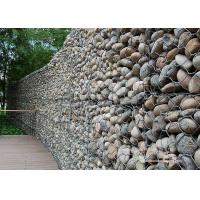 China Hexgonal Gabion Wire Mesh / Galvanized Gabion Retaining Walls / Gabion Basket wholesale