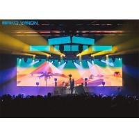 China 1920Hz Led Screen Stage Backdrop Indoor P2.97/P3.91 Fast Lock High Resolution wholesale