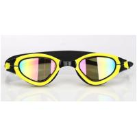 China Interchangeable Nose Piece Adult Swim Goggles With Soft / Durable Silicone Gasket wholesale