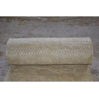 China 3000 - 7000mm Length Rock Wool Blanket Insulation , Fireproof Insulation Blanket wholesale