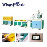 China Plastic PP Expansible Basin Pipe / Kitchen Sink Drain Pipe Making Machine on sale