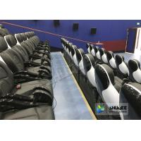 China Exciting 5D Cinema Equipment , 5D Luxury Motion Seats With Vibration Effect In Mall wholesale