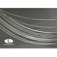 China ISO9001 Silver Alloy Wire High Electrical Conductivity For Electrical Contacts wholesale