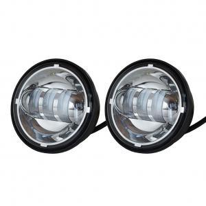 China 70w Cree Car LED Fog Lights Long Life Waterproof IP68 Round Led Fog Lights wholesale