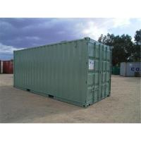 China Used Steel Storage Containers / Second Hand Sea Containers 5.90m * 2.35m* 2.39m wholesale