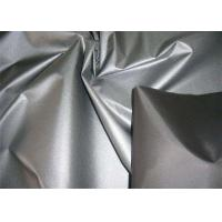 Silver / Purple Polyester Taffeta Fabric 190T Yarn Count Color Customized Comfortable