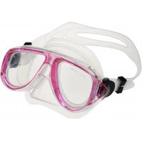China Comfortable Pink Kids Scuba Mask, Childrens Snorkel Mask Easy Breath wholesale