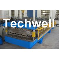 China Custom Automatic Double Layer Sheet Roll Forming Machine With High Quality TW-DLM wholesale