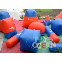 China Speedball  Inflatable Paintball Bunkers Waterproof For Adults 0.9mm PVC wholesale