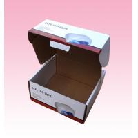 Wholesale custom F-flute corrugated Cardboard LED Light Packaging Boxes with Locking Lid from china suppliers