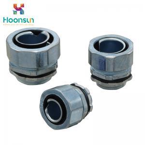 China Zinc Alloy Watertight Conduit Connector Hexagonal Type With IP68 Waterproof wholesale