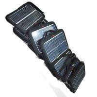 Quality Hiking Waterproof Solar Charging Backpack With Handle 460mm x 340mm x 190mm for sale