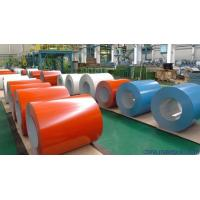 China Corrugated Roofing Sheets PPGL Coil , Prepainted Galvalume Steel Coil wholesale