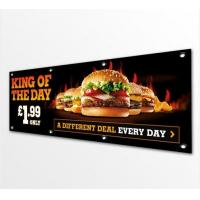 China Double Sided Pvc Vinyl Banners And Flags Outdoors / Indoor Solvent Printing wholesale