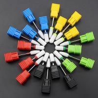 China Not Rusty Cuticle Nail Drill Bits Ceramic Material Corrosion / Heat Resistant wholesale