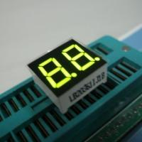China Dual Digit 7 Segment Multiplexed LED Display For Digital Clock Indicator wholesale