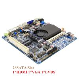 China 2 SATA HDMI VGA LVDS Mini Dual Lan ITX Motherboard Support Double Display wholesale