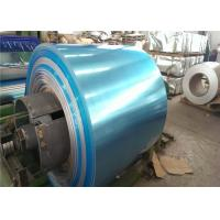 Quality Decoration E3 Embossed Aluminum Sheet / Aluminium Coil With Blue Film 0.8 - 10.0 mm for sale