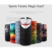 China Sports Variety Magic Scarf,Most Popular Head Wrap Magic Mask Custom Neck Tube Bandana,Promotional Multi-Function Custom wholesale