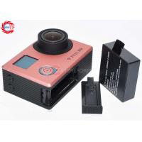 Wholesale Rose Golden Super Thin FHD 1080p Action Camera Dual Screen With WIFI from china suppliers