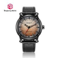 China Wolf Teeth Design Student Wrist Watch Genuine Leather Band Creative Gift For Men​ wholesale