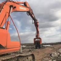 Buy cheap Hot Sale Excavator/digger Pile Machinery Vh250 Hydraulic Vibro Piling Drivers from wholesalers