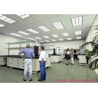 China Corrosion Resistant Lab Island Bench , Full Steel Desk Lab Systems Furniture wholesale