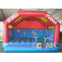 China Home Use Mini Enclosed Bounce House Inflatable For Babies CE / EN14960 wholesale