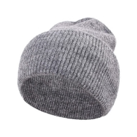 China Double Side Unisex Winter Soft Warm Knitted Beanie Cap wholesale