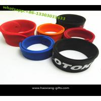 China Hot new product for 2015 hot selling novelty Custom Slap Wristbands Sport Slap Bracelet wholesale