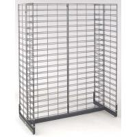 China Galvanized Wire Grid Display Shelving Stand Racks systems for Supermarket, Store Goods wholesale