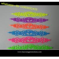 China new fashion style Tatto silicone wristband/ bracelet as your size and design wholesale