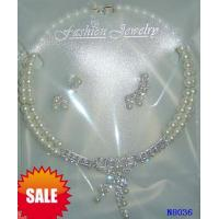 China Women's Fashion Hematite Jewelry Beaded Pearl Necklaces for Gift 16g OEM wholesale