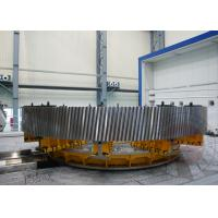 China Carburizing Furnace Gear Shaft Forging Flange OEM / Forged Ring Gear Crusher 42CrMo4 wholesale