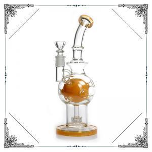 10 Inches Color Fab Egg Matrix Perc Smoking Hand Blown Glass Bowl
