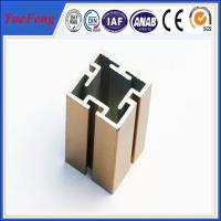 China 6000 Series aluminium extruded profile slot / OEM t slot aluminum extrusion factory on sale
