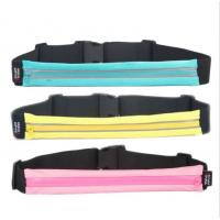 Quality Waterproof Hiking Money Travel Waist Bag For Sport 40*5.5 Cm for sale