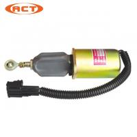 Buy cheap Excavator Spare Parts C43977620 Diesel Engine Stop Solenoid 24V from wholesalers