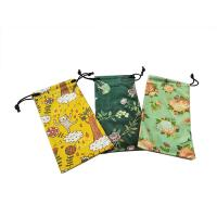 China Natural Digital Pringting Glasses Pouch Case 100% Polyester Eco-friendly wholesale
