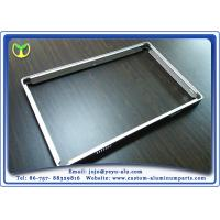China 6063A T5 Extruded Steel Profiles / Modular Aluminium Extrusions For Equipment Aluminum Frame wholesale