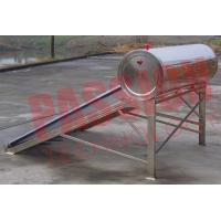 China Food Grade Vacuum Tube Solar Water Heater Portable With Painted Steel Shell wholesale