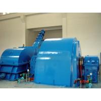 China Double Nozzles Pelton Hydro Turbine GeneraAtor For Hydro Power Project wholesale